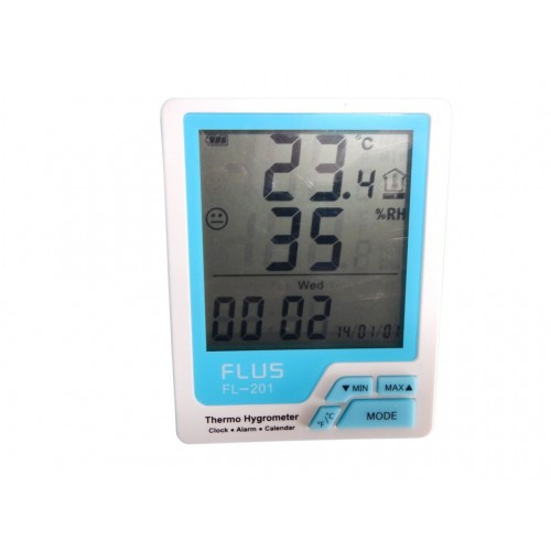 Термогигрометр Flus FL-201