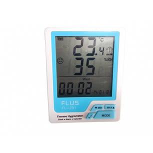Термогигрометр Flus FL-201, фото 2