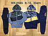 Спортивный утепленный костюм 2 в 1 для мальчика оптом, F&D, 8-16 лет,  № WX-2593