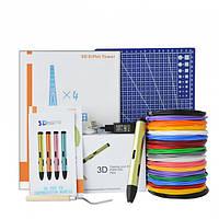3D-ручка Air Pen Play V6 Green с Набором PLA Пластика 180 метров (12 цветов) и Аксессуары
