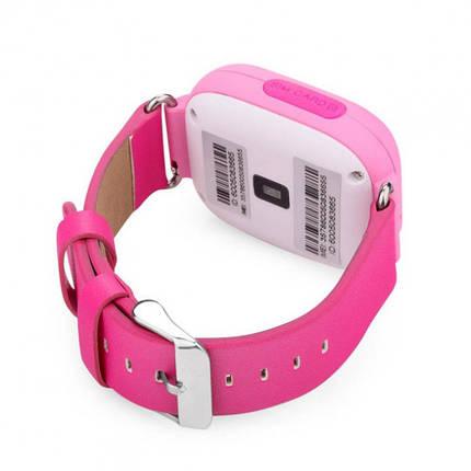 """Детские умные часы Robot Q90/Q100 смарт-часы с GPS WiFi 3G 1"""" Розовые, фото 2"""