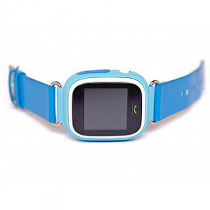 """Детские умные часы ROBOT Q90/Q100 смарт-часы с GPS WiFi 3G 1"""" Голубые (SUN10606) , фото 2"""