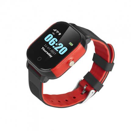 """Детские умные часы Robot FA23 смарт-часы с GPS 1.30"""""""" IP67 450mAh Черно-Красный , фото 2"""