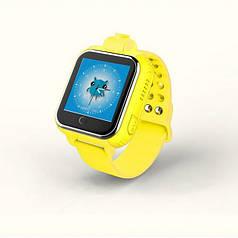 """Детские умные часы Robot  Q730 смарт-часы с GPS 1.54"""" 600mAh Желтый"""