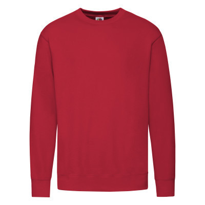 Мужской демисезонный стильный свитшот под принт красный