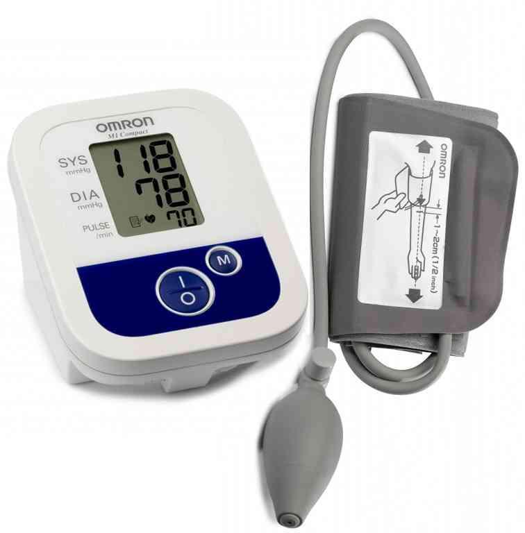 Измеритель электронный артериального давления на плече OMRON M1 Compact