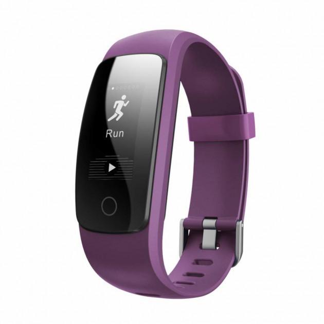 Фитнес-трекер умный браслет Smart Band Maxi ID107 Plus Фиолетовый