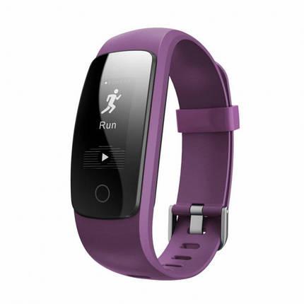 Фитнес-трекер умный браслет Smart Band Maxi ID107 Plus Фиолетовый , фото 2