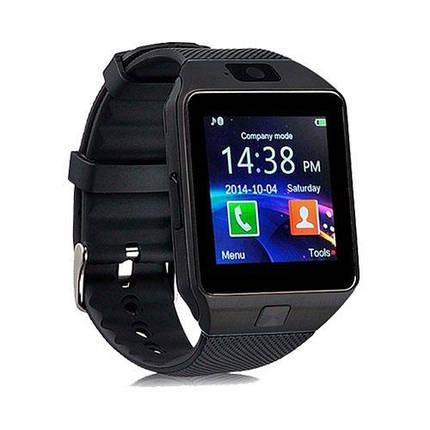 Умные часы Smart Watch GSM DZ09 Black, фото 2