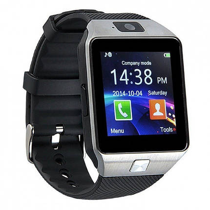 Смарт-часы UWatch Smart DZ09 Серые , фото 2
