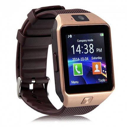Умные часы Smart Watch DZ09 Bronze, фото 2