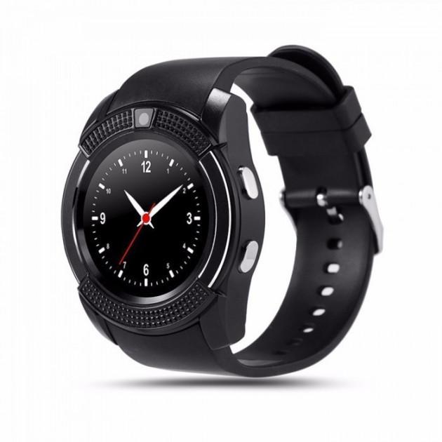 Часы-телефон Smart Watch V8 Black