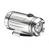 Фонарь велосипедный Lezyne LED MINI DRIVE XL FRONT W/ ACC серебристый (4712805 978601), фото 1