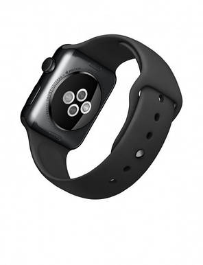 Apple Watch Series 3 GPS + Cellular 42mm Space Gray Aluminum with Black Sport Band (MQK22), фото 2