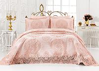 Комплект постельного белья с покрывалом Евро размер
