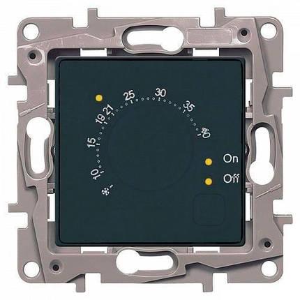 Термостат для пола LEGRAND Etika Антрацит (672630), фото 2