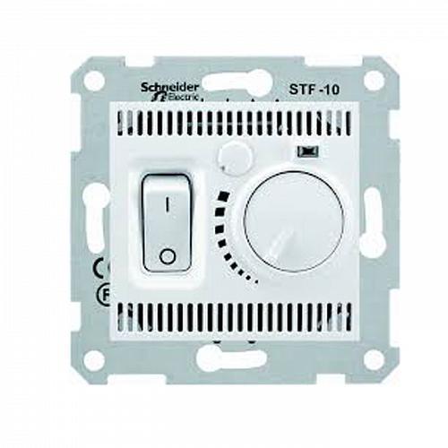 Термостат комнатный Schneider Sedna Белый (SDN6000121)