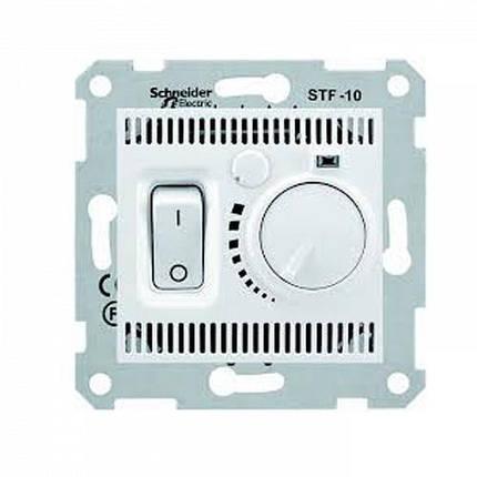 Термостат комнатный Schneider Sedna Белый (SDN6000121), фото 2
