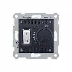 Термостат для теплого покомнатный Schneider Sedna Графит (SDN6000170)