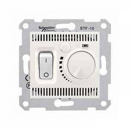 Термостат для теплого пола с датчиком Schneider Sedna Кремовый (SDN6000323), фото 2