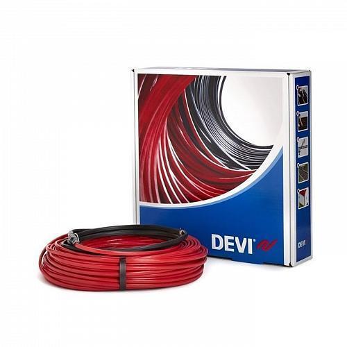 Теплый пол DEVI нагревательный кабель DeviIflex 18T 131 м, 2420 Вт (140F1251)