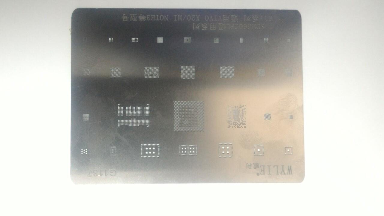 BGA трафарет G1137 для Xiaomi Mi Note 3 PM660 PM660a