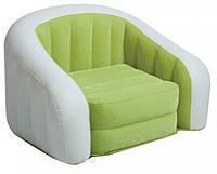 Велюровое кресло Intex 68597 Зеленый
