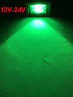 Светодиодный линзованый прожектор SL-IC10Lens 10W 12-24V DC зеленый IP65 Код.59309
