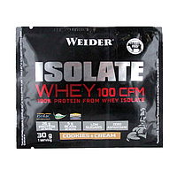 Протеин WEIDER ISOLATE WHEY 100 CFM Cookies&Cream 30 g