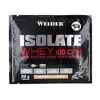 Протеин WEIDER ISOLATE WHEY 100 CFM Cookies&Cream 30 g