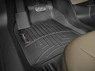 Коврики в салон для Mazda 3 2013- с бортиком, задние, черные EUR 444864