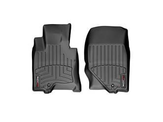 Коврики в салон для Infiniti EX 2007- с бортиком, черные передние 441551