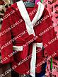 Детский махровый халат с ушками Зайка для детей от 4 до 6 лет, фото 5