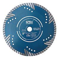 """Алмазный диск """"KONA FLEX"""" 230*22 турбо глубокий рез."""