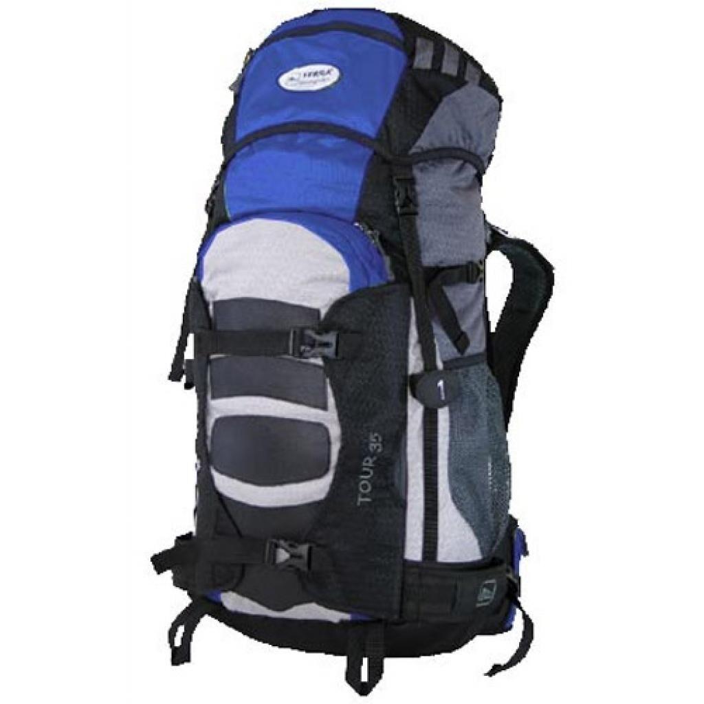 Рюкзак Terra Incognita Tour 45 blue / gray (4823081500780)