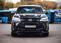 Тюнінг обвіс Lexus LX 570/450d 2016+ р. в. з гратами радіатора MTR