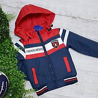 """Куртка для мальчика  код """"901"""" весна-осень, размеры на рост от 98 до 122 примерный возраст от 3 до 6 лет, фото 1"""