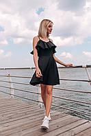 Платье летнее (цвет - черный, ткань - софт) Размер S, M, L (розница и опт)