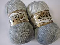 ANGORA GOLD 208 светло-серый - 20% шерсть, 80% акрил