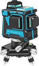 3D лазерный нивелир Kraissmann 12 3D-LL 25 (12 линий, зеленый луч, 360º, 25 м.), фото 3