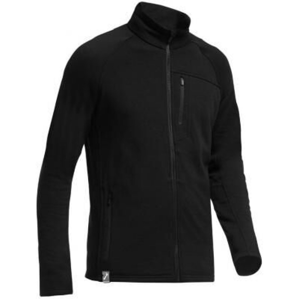 Термокофта Icebreaker Sierra LS Zip MEN black L (101 476 001 L)