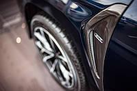 Крила з карбонової вставкою і підсвічуванням Lexus LX 570/450d 2016+ р. в.