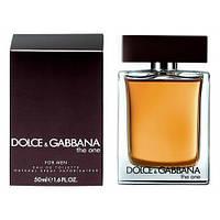 Dolce&Gabbana The One For Men - Туалетная вода 50ml (Оригинал)