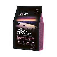 Сухой корм Profine Dog Adult Salmon & Potatoes (для взрослых собак, лосось)