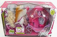 Лошадка с крыльями и каретой 83264