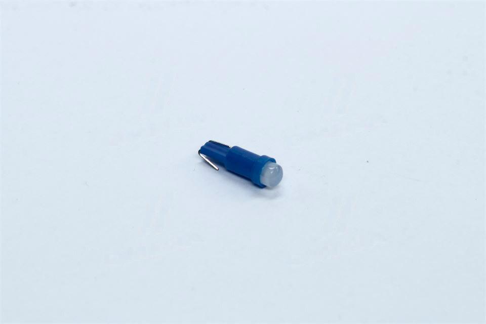 Лампа LED безцокольная панель приборов, подсветки кнопок Т5-02 (1SMD) W2,0 х4,6d голубая 12V (Tempest). tmp-28T5-12V