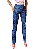 Одяг для ляльок Барбі - джинси-брюки, фото 3