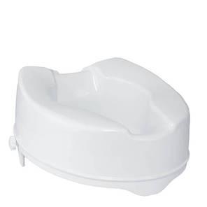 Туалетное сиденье с фиксатором «TESEO» (14 см), фото 2