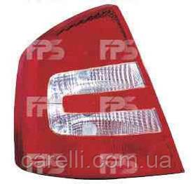 Фонарь задний для Skoda Octavia A5 лифтбек '05-09 (А5) левый (DEPO)