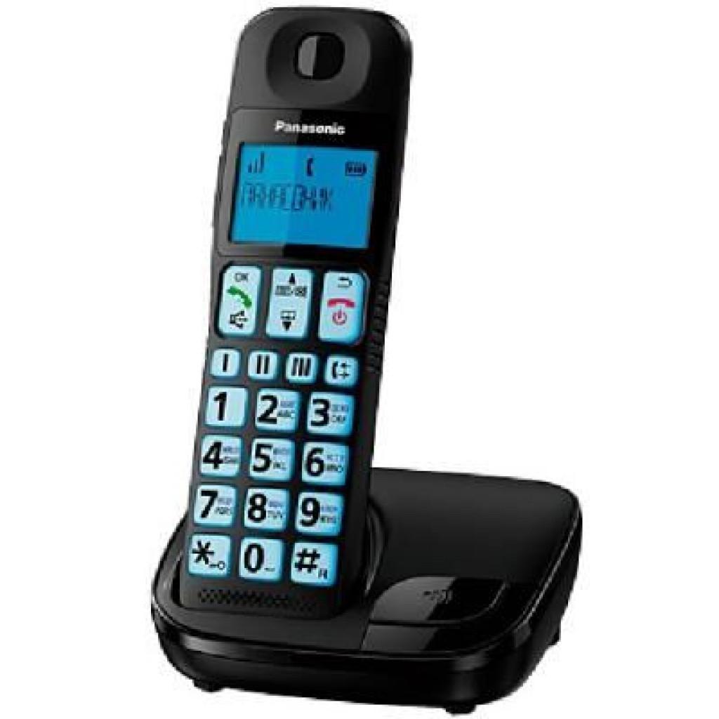 Телефон DECT PANASONIC KX-TGE110UCB